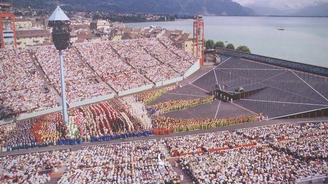 L'arène de la Fête des vignerons 1999. [RTS]