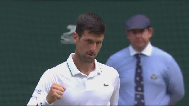 1-4, N. Djokovic (SRB) – D. Goffin (BEL) (6-4, 6-0, 6-2): Djokovic roule sur Goffin et passe en demie [RTS]
