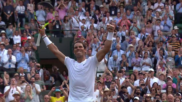 1-4, S. Querrey (USA) – R. Nadal (ESP) (5-7, 2-6, 2-6): Nadal s'offre une demie face à Federer vendredi! [RTS]
