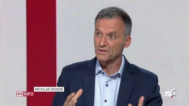 """Nicolas Rossé: """"La Suisse est l'un des pays les plus en avance en matière de réseau 5G."""" [RTS]"""
