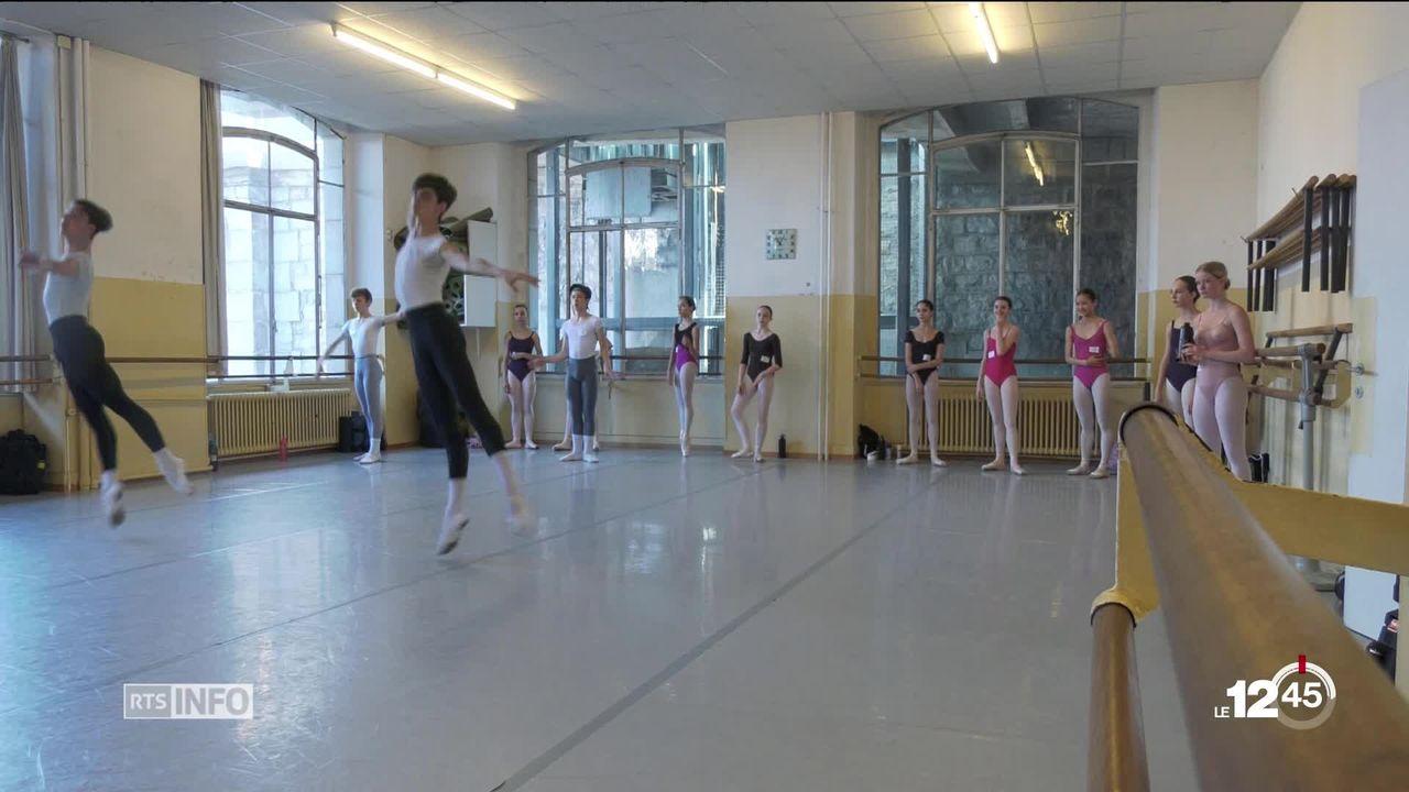 Pour la première fois, un stage d'été est organisé pour mieux préparer les danseurs au Prix de Lausanne [RTS]