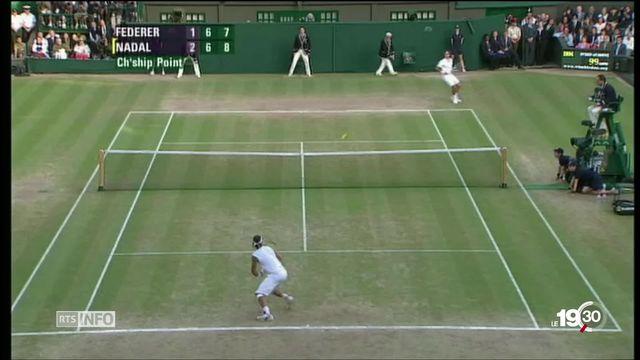 Tennis: nouveau duel Federer-Nadal à Wimbledon [RTS]