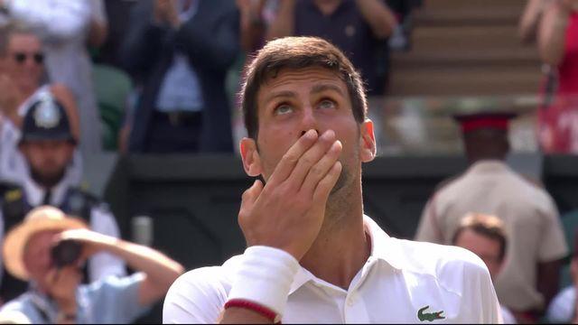 1-2 finale, N. Djokovic (SRB) – R. Bautista Agut (ESP) (6-2, 4-6, 6-3, 6-2): Djoko attend Federer ou Nadal en finale [RTS]