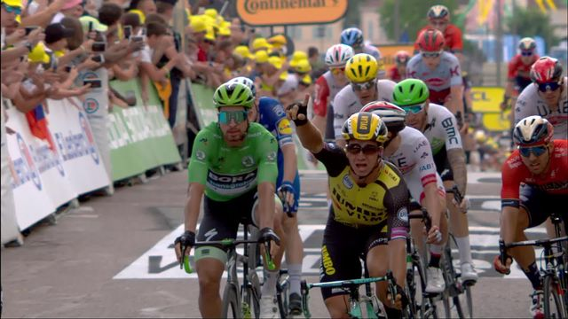 7e étape, Belfort – Chalon-sur-Saône: Dylan Groenewegen (NED) s'impose au sprint [RTS]