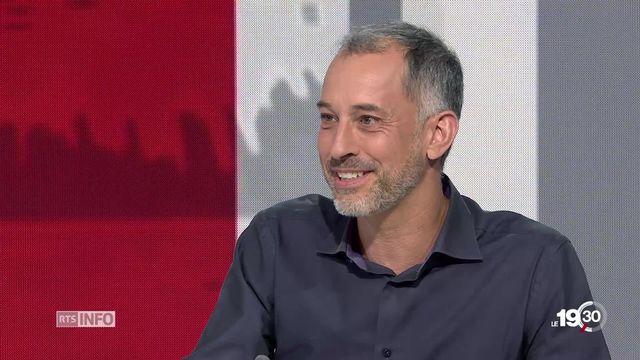 """Grégoire Vittoz: """"La nicotine d'addiction est tout aussi présent que dans la cigarette traditionnelle."""" [RTS]"""