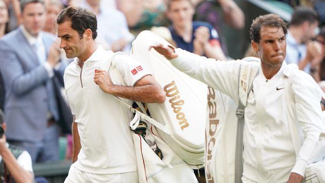 Federer et Nadal ont disputé un combat épique. [Atsushi Taketazu - AFP]