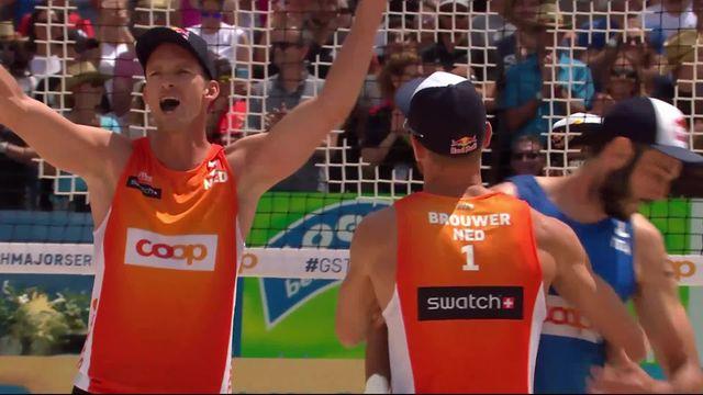 1-2, Pays-Bas - Italie (21-17, 21-15): les Pays-Bas se qualifient pour la finale [RTS]