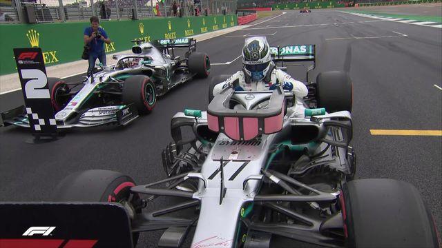 GP de Grande-Bretagne (#10), Q3: Bottas (FIN) prend la pole [RTS]