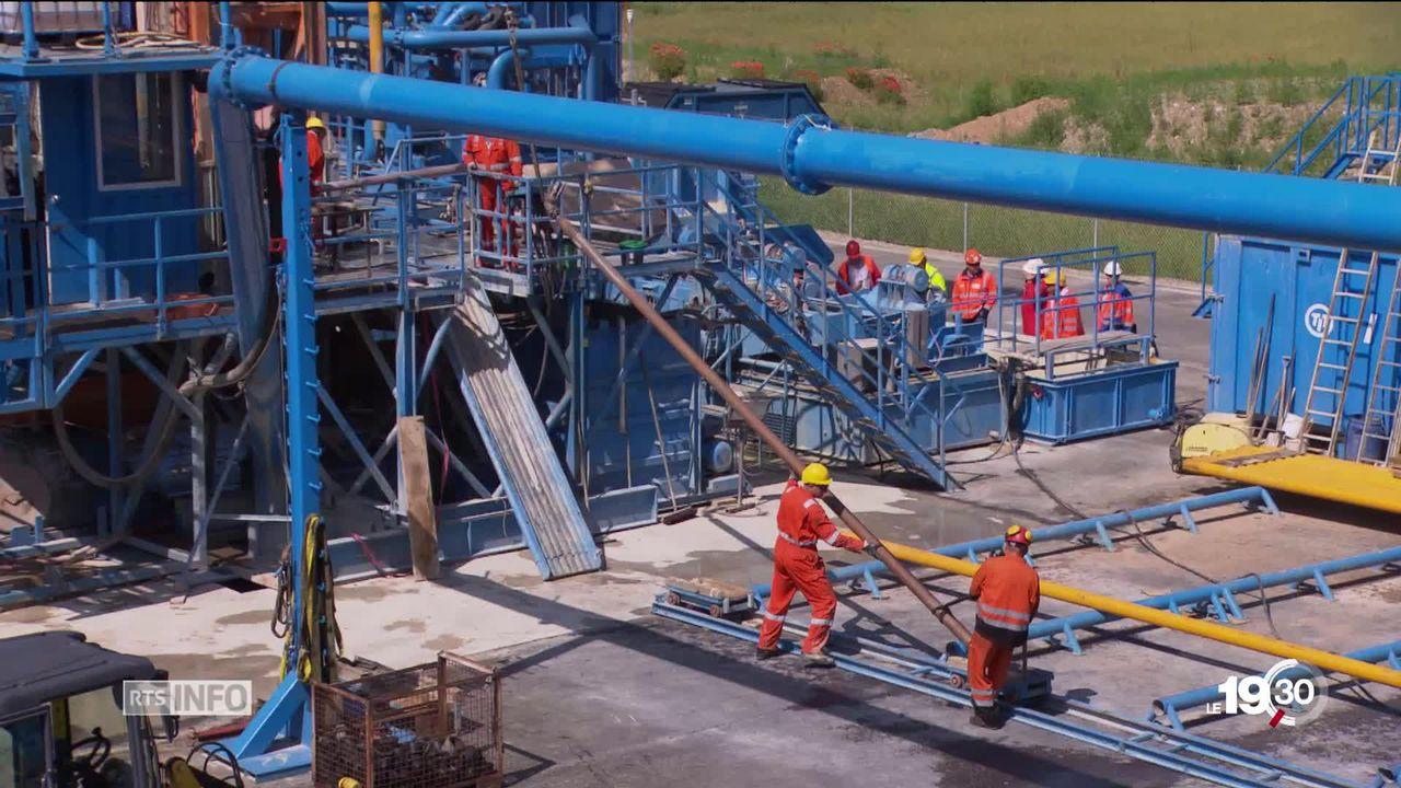 Les travaux de forage pour la création d'un dépôt en profondeur pour nos déchets nucléaires sont en cours [RTS]