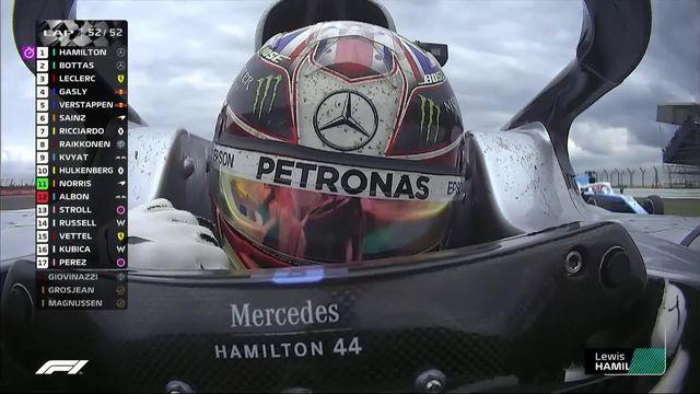 GP de Grande-Bretagne (#10): Lewis Hamilton (GBR) s'impose pour la 6e fois en Grand-Bretagne [RTS]