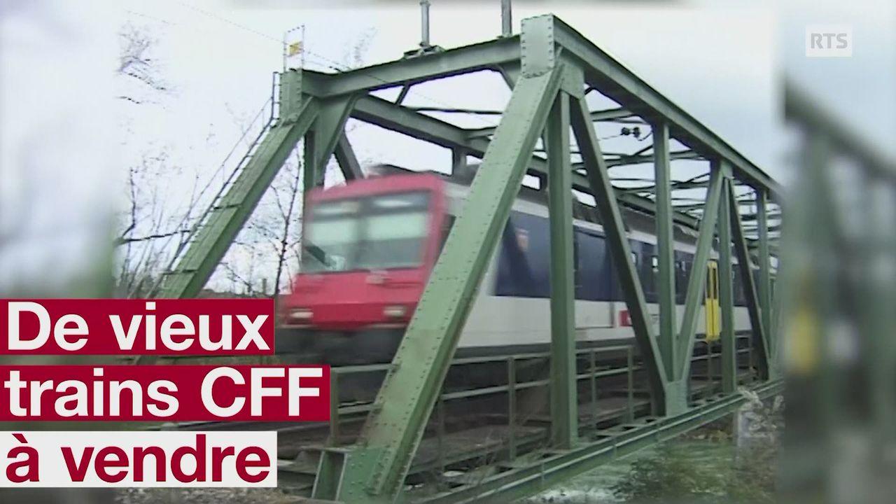 Anciens trains CFF a vendre [RTS]