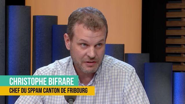 La grande absence des étrangers dans la protection civile: interview de Christophe Bifrare [RTS]