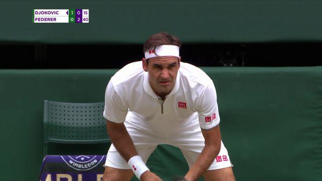 Tennis, Wimbledon: la finale entre Djokovic et Federer [RTS]