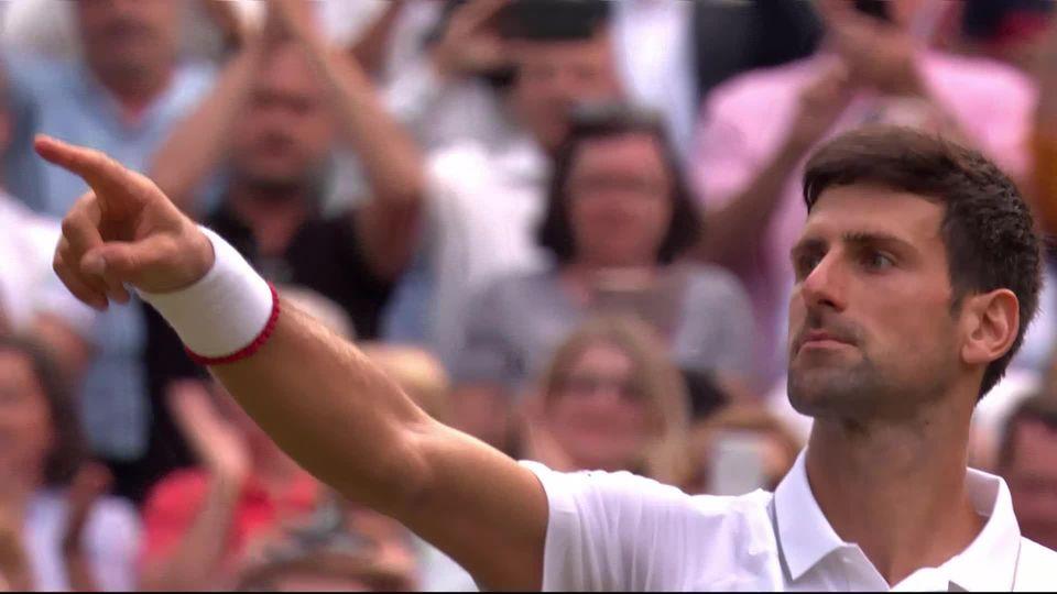Finale, R. Federer (SUI) - N. Djokovic (SRB) (6-7, 6-1, 6-7, 6-4, 12-13): les meilleurs moments du sacre de Djokovic [RTS]