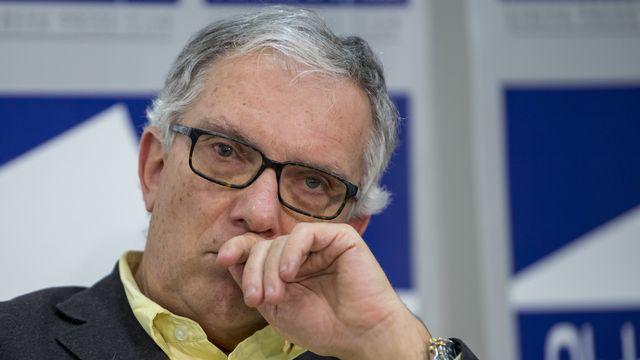 Guy Mettan se présentera aux élections fédérales en tant qu'indépendant [Martial Trezzini - KEYSTONE]
