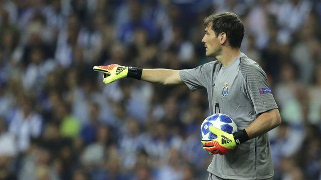 Casillas, légende du Real Madrid, a rejoint l'Estadio do Dragão en 2015. [Manuel Araujo - Keystone]