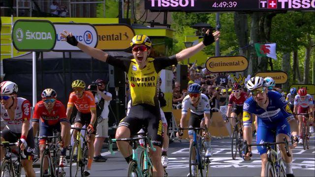 10e étape, Saint-Flour - Albi: Wout Van Aert remporte l'étape [RTS]