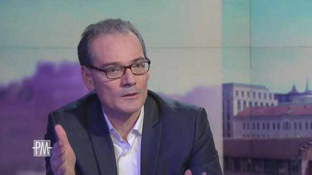 George Coukos, chef du Département d'oncologie UNIL CHUV. [RTS]