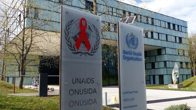 Onusida tire un bilan contrasté de l'année 2018 en matière de lutte contre le sida [Jamey Keaten - KEYSTONE/AP PHOTO]