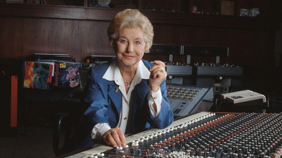 Colette Jean en 1997. [Monique Moser - RTS]