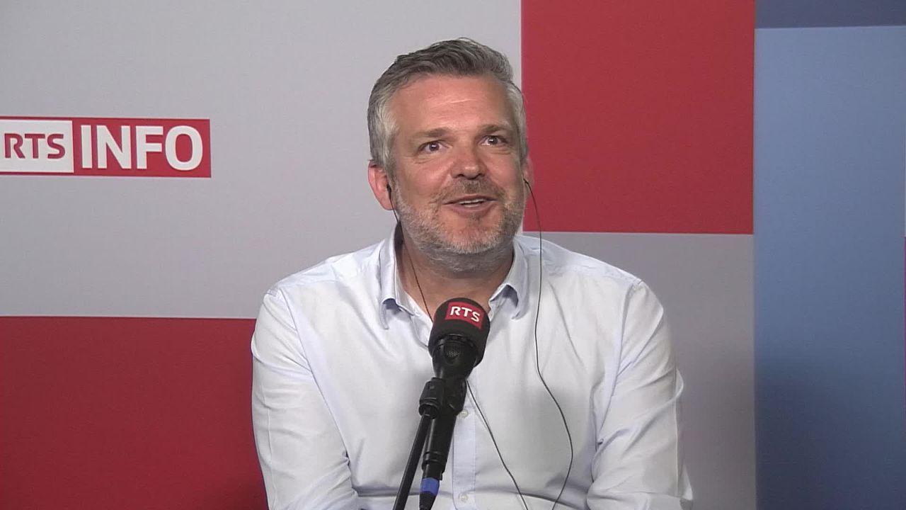 L'invité de La Matinale (vidéo) - Vincent Sager, directeur d'OPUS ONE [RTS]