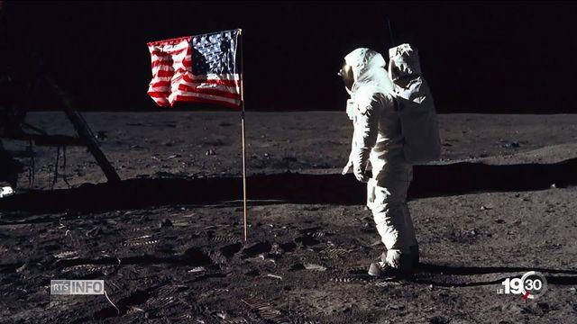 Il y a 50 ans, la mission Apollo 11 a décroché la Lune. Un exploit qui couronne des années de prouesses technologiques. [RTS]