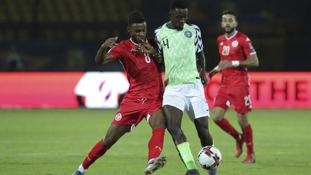 Nididi Wilfred et le Nigeria bouclent le tournoi en beauté. [Hassan Ammar - Keystone]