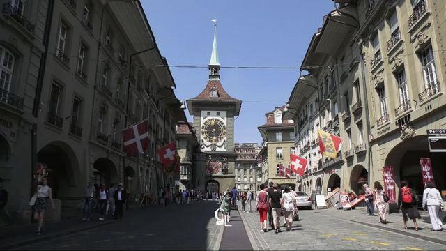 La vieille ville de Berne, joyaux médiéval au patrimoine mondial de l'UNESCO [RTS]