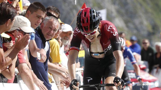Thomas a perdu gros lors de la 14e étape au Tourmalet. [Thibault Camus - Keystone]