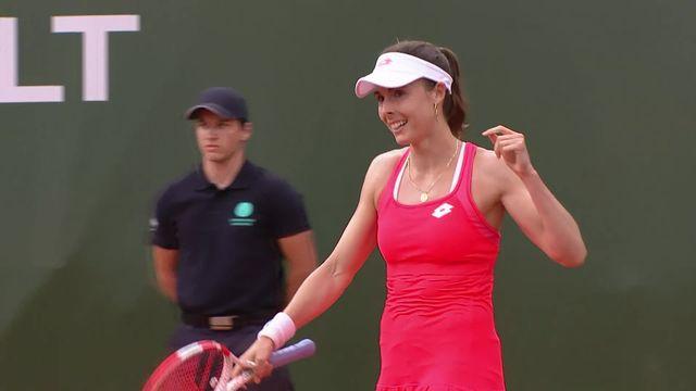 WTA Lausanne: la finale opposera Fiona Ferro à Alizé Cornet [RTS]