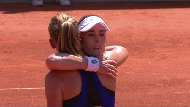 Finale, A. Cornet (FRA) - F. Ferro (FRA) (1-6, 6-2, 1-6): Ferro bat sa compatriote et remporte son premier titre WTA [RTS]