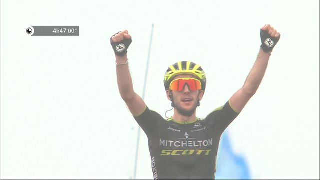 15e étape, Limoux - Foix Prat d'Albis: victoire de Simon Yates (GBR) [RTS]