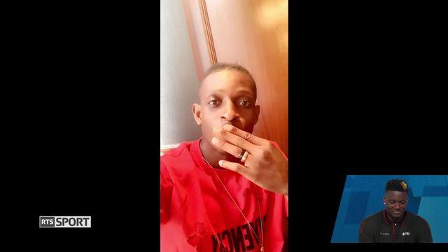 Basketball: le message de François Mubandje à Clint Capela [RTS]