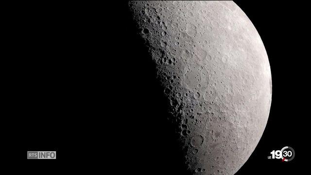 L'objectif lune est non seulement une aventure technologique mais un instrument de puissance pour les Etats. [RTS]