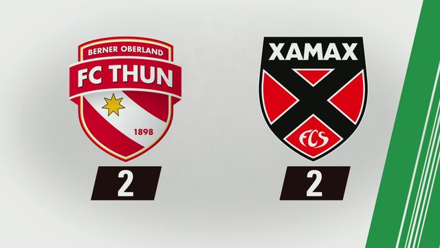 Super League, 1re journée: Thoune - NE Xamax (2-2) [RTS]