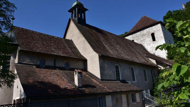 La Chapelle du Vorbourg. [Gaël Klein - RTSinfo]