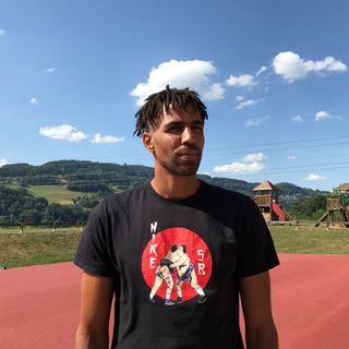Thabo Sefolosha lors de son camp à Saint-Légier. [Loane Mathez]