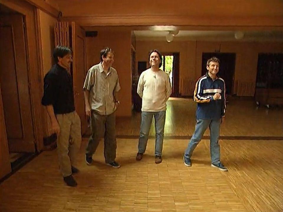 Daniel Rossellat et ses compagnons de la première heure sur les traces du First Folk Festival.