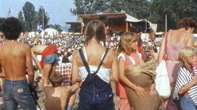 Le Paleo Festival de Nyon, années 80.