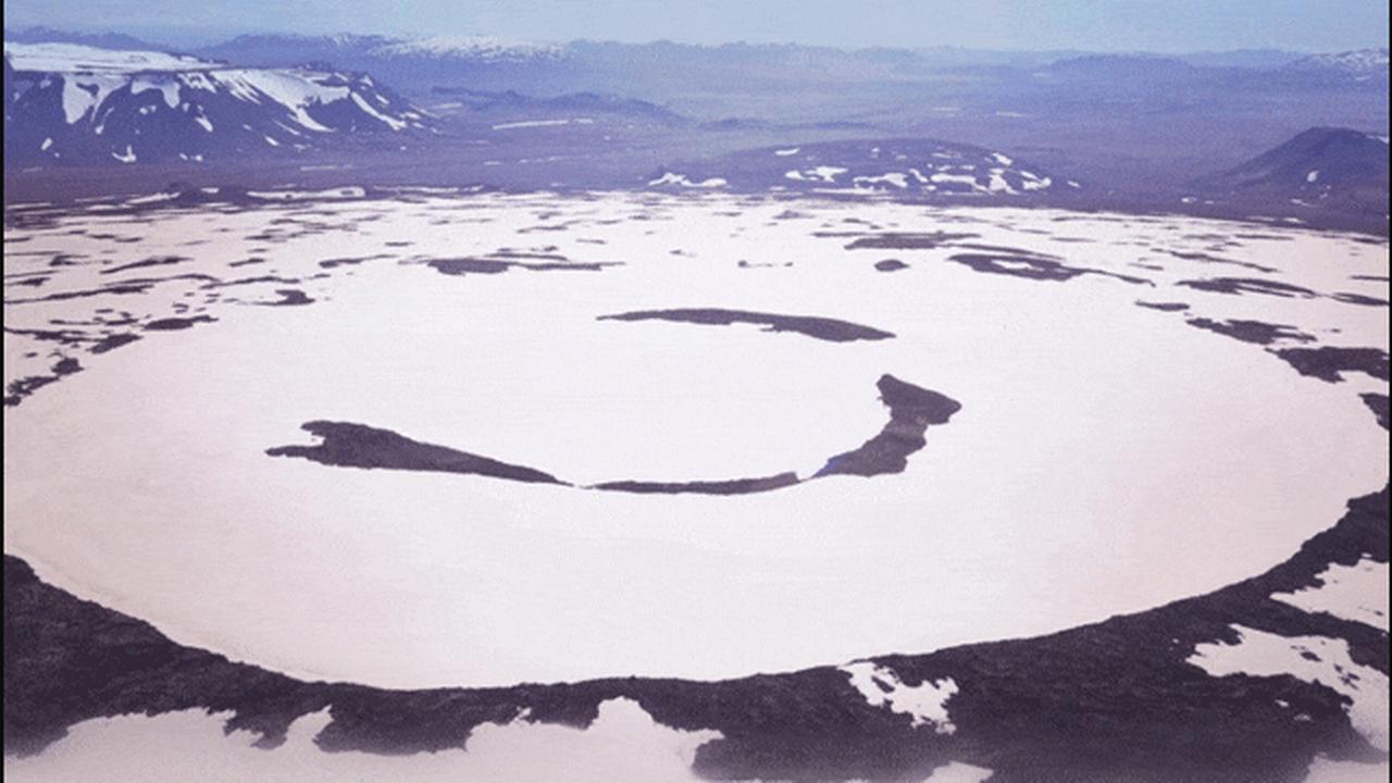 L'Okjökull a été déclassé par les glaciologues en 2014. [Rice University]