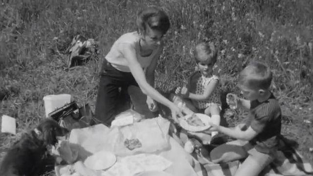 Comment réussir son pique-nique? Les conseils de l'émission Actualité au féminin de la TSR en 1968. [RTS]