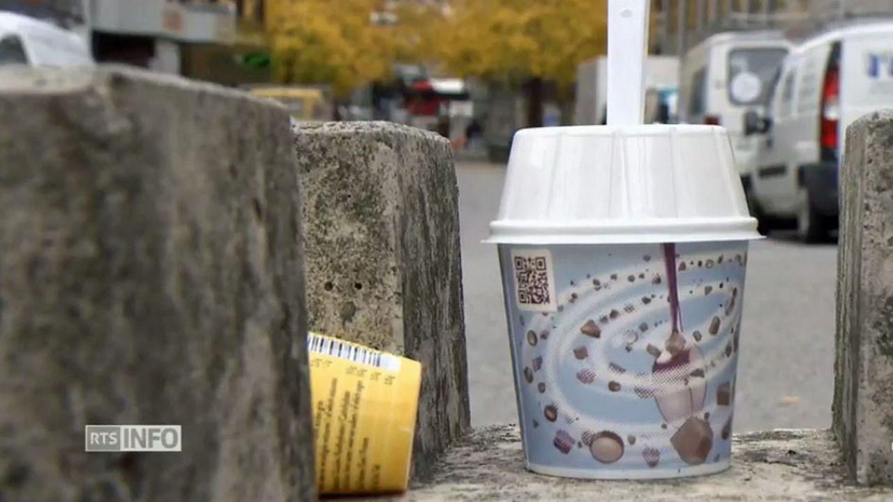 La modification de la loi fribourgeoise sur la gestion déchets est entrée en vigueur le 1er mai 2019. [RTS]