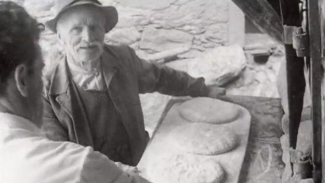 L'art du pain à Verbier en 1960. [RTS]