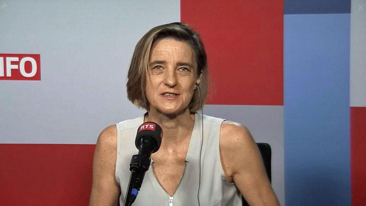 Daphné Bavelier. [RTS]
