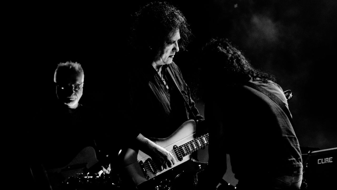 The Cure emmené par le chanteur Robert Smith au Paléo Festival de Nyon, le 25 juillet 2019. [Nicolas Patault - Paléo Festival 2019]