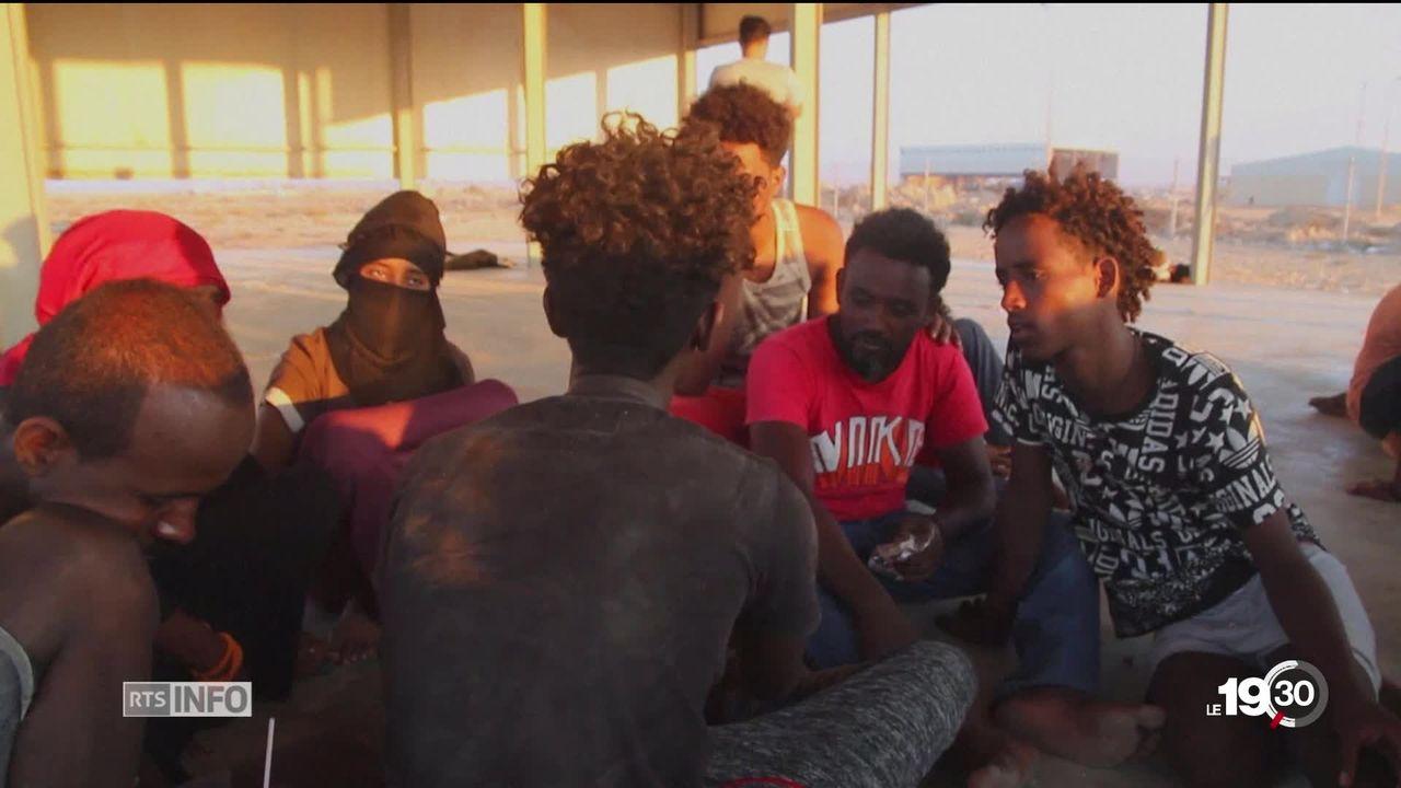 Migrants en Méditerranée: Naufrage le plus meurtrier depuis le début de cette année selon l'ONU. [RTS]