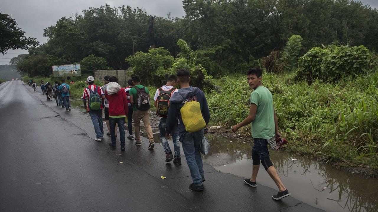 Le Guatemala va appliquer de nouvelles mesures migratoires visant principalement les réfugiés originaires du Honduras et du Salvador. [Oliver de Ros - KEYSTONE]