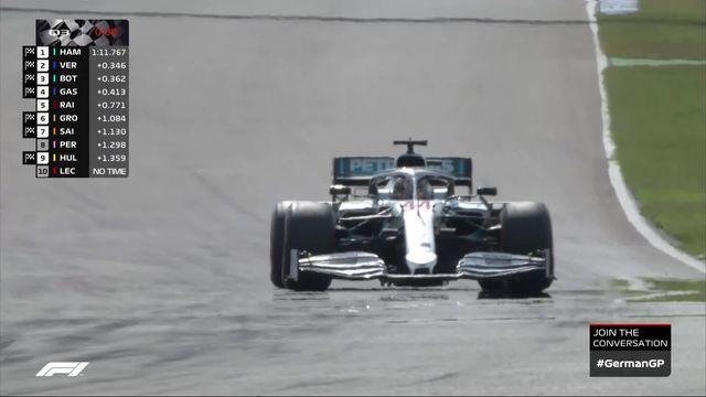 GP d'Allemagne (#11), Q3: Hamilton )GBR) prend la pole position [RTS]