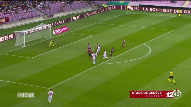 En football, 0-0 dans le derby du Rhône mais les spectateurs ont vibré. [RTS]