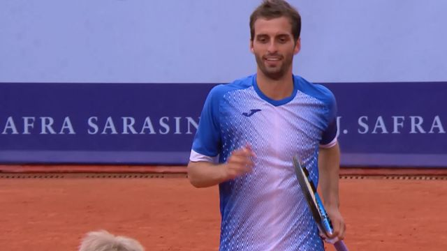 Finale, C.-M. Stebe (ALL) - A. Ramos-Vinolas (ESP) (3-6, 2-6): victoire en deux sets de l'Espagnol [RTS]